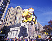 Rugrats balloon, Macy s thanksgiving day parade, Manhattan, New York, USA.