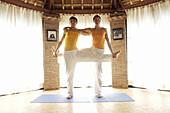 Contemporary, Daytime, Exercise, Exercises, Female, Fit, Flexibility, Flexible, Full-body, Full-len