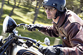 ycles, Daytime, Exciting, Exterior, Eyeglasses, Fast, Generation X, Glasses, Grin, Grinning, Headgear