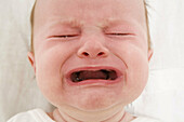 Baby Girl Crying Becuase of Teething