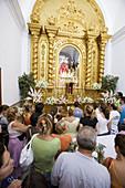 Worship of the Virgen of the Light, Tarifa, Cadiz, Spain