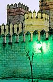 San Marcos Castle (XIII c., by Alfonso X in a site of a former moorish mosque). Puerto de Santa María. Cádiz province. Andalusia. Spain