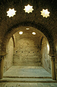 Moorish baths (XI c.), the largest to survive in Spain. Jaén province. Andalusia. Spain