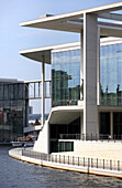 Marie Elisabeth Lueders building at river Spree, The new government district, Berlin, Germany