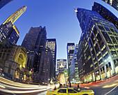 Street scene, Park Avenue, Midtown, Manhattan, New York, USA
