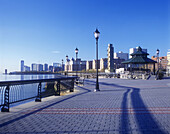 Waterfront, Financial district, Jersey City, New jersey, USA