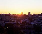 Midtown, Manhattan, From hoboken, New jersey, USA