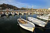 Fishing port, Alcudia. Majorca, Balearic Islands. Spain
