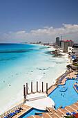Hotels, Cancun. Quintana Roo, Yucatan Peninsula, Mexico