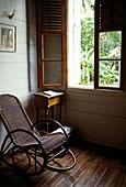 Maison de Planteur (restored plantation house), Anse aux Pins, Mahé Island. Seychelles