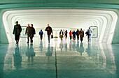 Parking access. Bilbao airport, by Santiago Calatrava. Bilbao. Euskadi. Spain