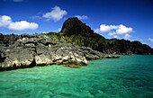 Sawa-I-Lau and the Blue Lagoon, Yasawa group, Yasawa group, Fiji, South Sea