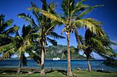 Sawa-I-Lau and the Blue Lagoon seen from Yasawa Island, Yasawa group, Fiji, South Sea
