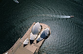 Aerial photograph of Sydney Opera House, Sydney, New South Wales, Australia