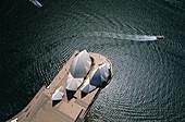 Aerial photograph of Sydney Opera House, Sydney, New South Wales, Australia
