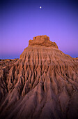 the eroded remnants of the Wall of China, an ancient sand dune in the evening light, Mungo National Park, New South Wales, Australia