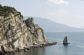 Aurora Cliff, Alupka. Crimea, Ukraine