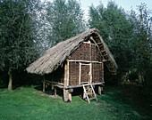 Dwelling. Eichsfeld-Hainich-Werratal Natural Park. Germany