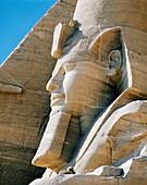Colossal statue of Ramses II, Abu Simbel, Egypt