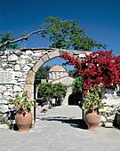 Greece, Rhodes, Dodecanese, Laerma, Thari Monastery