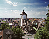 Germany, Freiburg im Breisgau, Black Forest, Baden-Württemberg, Schwabentor (Swabian Town Gate)