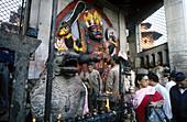 Goddess Kali. Katmandu. Nepal