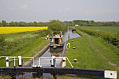 Narrow Boat Grand Union Canal Marsworth Herts