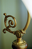 Detail from a Victorian lamp