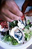 Oyster dish preparation