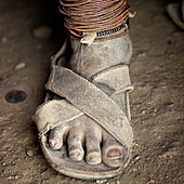 African feet. Tanzania