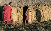 Maasai dwelling. Tanzania