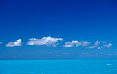 Turquoise blue sea,  Bahamas, Atlantic Ocean