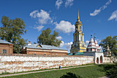 Monastery of the Deposition of the Holy Robe founded in 1207, Suzdal. Golden Ring, Russia