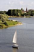 Volga embankment, Yaroslavl. Golden Ring, Russia