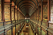 Old Library. Trinity College. Dublin. Ireland.