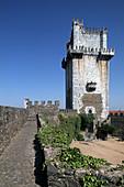Keep of castle, Beja. Portugal