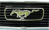 Ford Mustang emblem circa 1966
