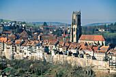 Saint Nicholas cathedral. Fribourg. Switzerland