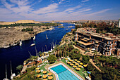 Old Cataract Hotel. Nile River. Aswan. Egypt
