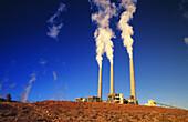 Navajo Nation Power Plant. Arizona. USA