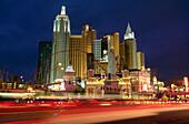 New York, New York Hotel and Casino. The Strip. Las Vegas. Nevada. USA