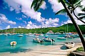 Cruz Bay in Saint John Island. U.S. Virgin Islands