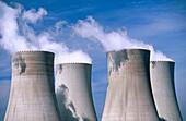 Nuclear power station. Temelin. South Bohemia. Czech Republic