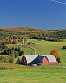 Farm. Vermont. USA