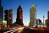 Berlin , Potsdamer Platz, Sony Center,  DB tower