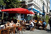 Berlin Kreuzberg Bar Cafe Hannibal outdoors