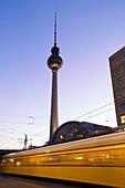 Berlin Alexanderplatz Alex, tram