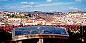 Portugal, Lisbon, Miradouro de Sao Pedro de Alcantara