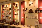 Vienna Austria Cafe Sacher interieur confiserie