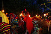 Walpurgis Night,  witches day, tradition, Bad Grund, Harz Mountains, Lower Saxony, northern Germany